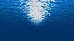 4K UHD Underwater Submarine Diving Stock Footage