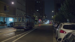 Cable car san francisco Stock Footage