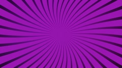 Purple radial spinning motion background seamless loop Stock Footage