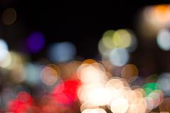 abstract bokeh background of holiday light, blur, abstract - stock photo