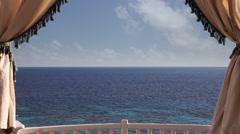 Horizon over water Stock Footage