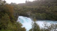 Huka falls waterfall Stock Footage