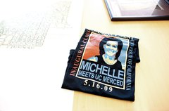 A tee-shirt commemorates First Lady Michelle Obama's address to the first fou Free Stock Photos