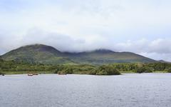 Ross Bay Lough Leane Lower Lake. - stock photo