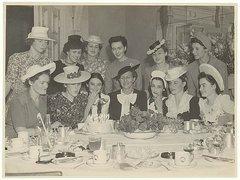Birthday party c. 1930s / Sam Hood Free Stock Photos