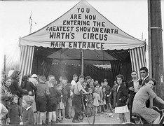 Wirths' Circus, 1941 / Sam Hood Free Stock Photos
