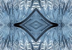 abstract shape pattern - stock illustration