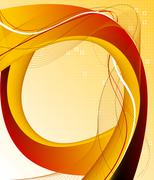 Abstract background composition - stock illustration