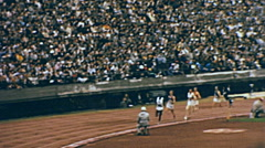 Tokyo 1964: 10000 m race at the Olympic games Stock Footage
