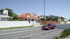Melbourne Brighton Beach Residence Stock Footage