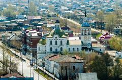 Church of Saint Michael the Archangel. Tobolsk Stock Photos