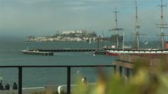 alcatraz, San Francisco - stock footage