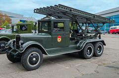 military car - stock photo