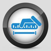 Measurement icon Stock Illustration