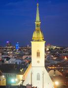 St. martin's cathedral in bratislava Stock Photos