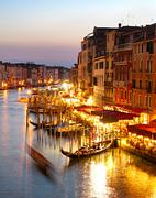 Grand canale, venice Stock Photos