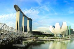 Singapore attraction Stock Photos