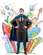 Business hero Stock Photos