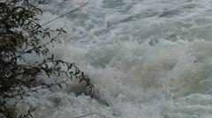 Power River, Water Foam Slow Motion Stock Footage