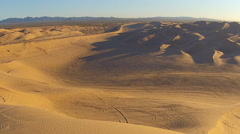 Off Road Vehicle Recreation Area-Algodones Sand Dunes- Glamis CA Stock Footage