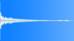 big metal thud 1 - sound effect
