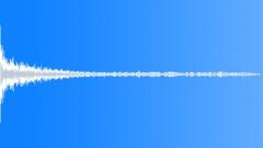 big metal thud 2 - sound effect