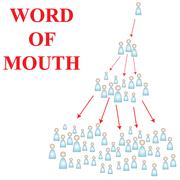 word of mouth - stock illustration
