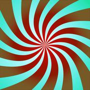 Stock Illustration of funky abstract purple background illustration of twisty stripes with a radial