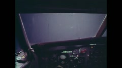 Cockpit Flight part 2 Stock Footage