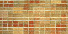 Red and brown brick wall Stock Illustration