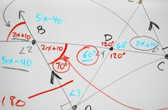 math background - stock illustration