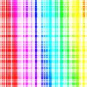 Shiny metal rainbow surface with lines. square background graphic Stock Illustration