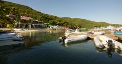 Leverick Bay Resort BVI 3 Stock Footage