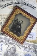 Stock Photo of Businessman Tycoon, Railroad Company