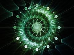 Symmetry Dial Stock Illustration