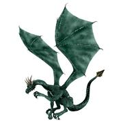 Green Dragon Stock Photos