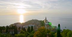 Piran (Italian: Pirano) is a town in Slovenia, 4K Stock Footage
