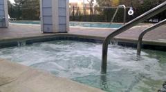Hot tub Stock Footage
