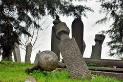 Sufi gravestone Stock Photos