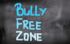 Bully Free Zone Concept Stock Illustration