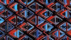 Neon Pattern 002 B Alternate Wave TC 1080p - stock footage