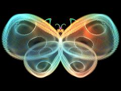 Colorful Butterfly - stock illustration