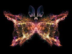 Petals of Butterfly - stock illustration