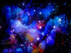 Magic of Space - stock illustration