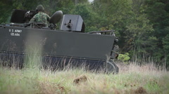Vietnam War | M113 APC  | Recon Team 1 Stock Footage