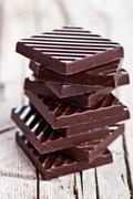 Chocolate sweets Stock Photos