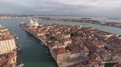 Stock Video Footage of Aerial. Venice.