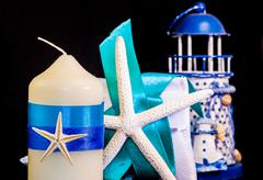 marine wedding - stock photo