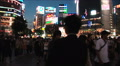 Tokyo Shibuya Crossing. Famous intersection. Japan. Consumerism. Crowd. People. HD Footage