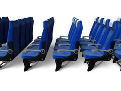 Stock Illustration of airline seath